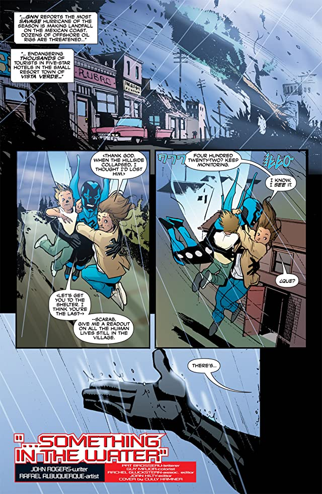 click for super-sized previews of Blue Beetle (2006-2009) #17