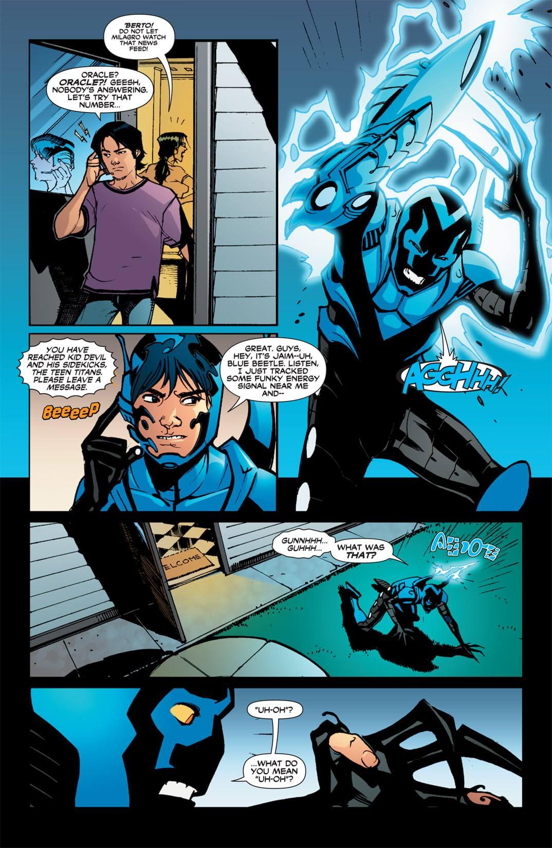 Blue Beetle (2006-2009) #20
