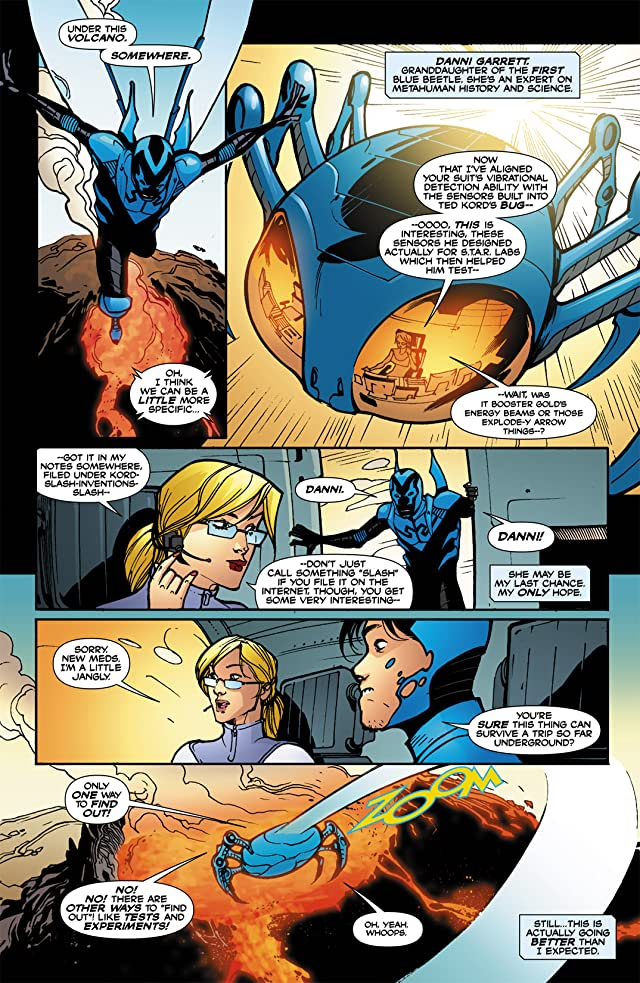click for super-sized previews of Blue Beetle (2006-2009) #22