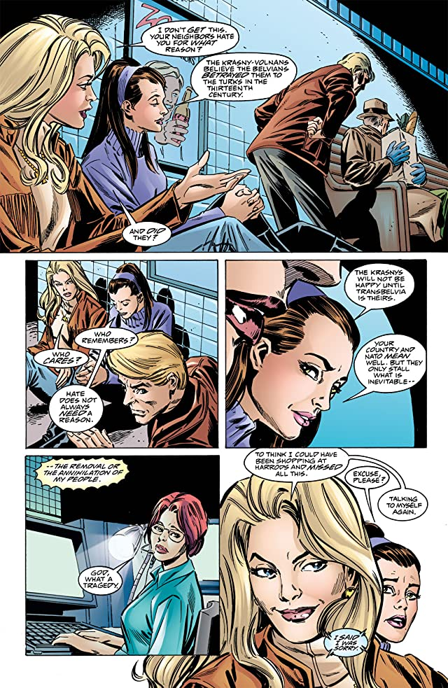 click for super-sized previews of Birds of Prey (1999-2009) #18