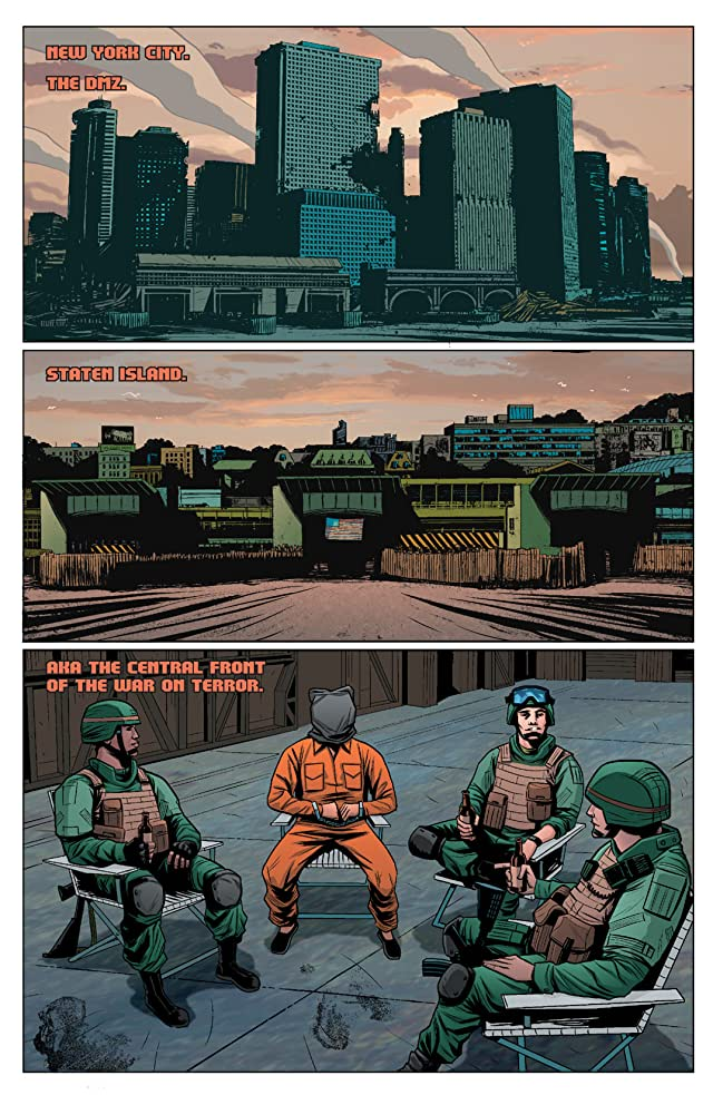 click for super-sized previews of DMZ #36