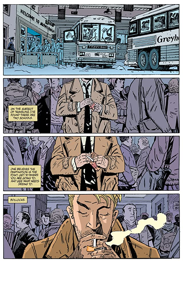 click for super-sized previews of Hellblazer #162