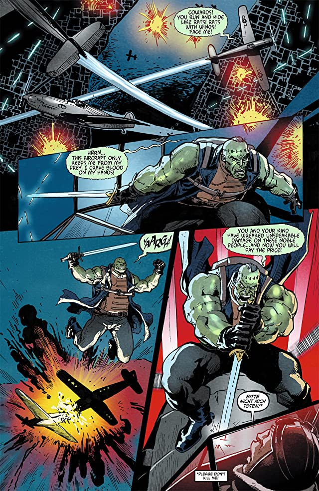 click for super-sized previews of Men of War (2011-2012) #8