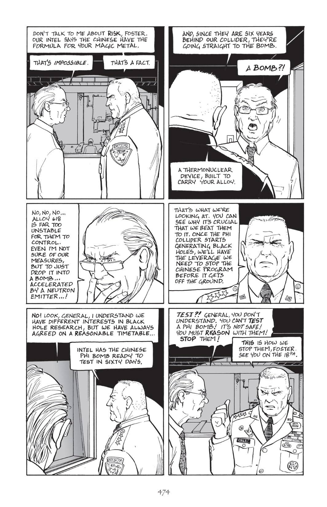 Terry Moore's Echo #25