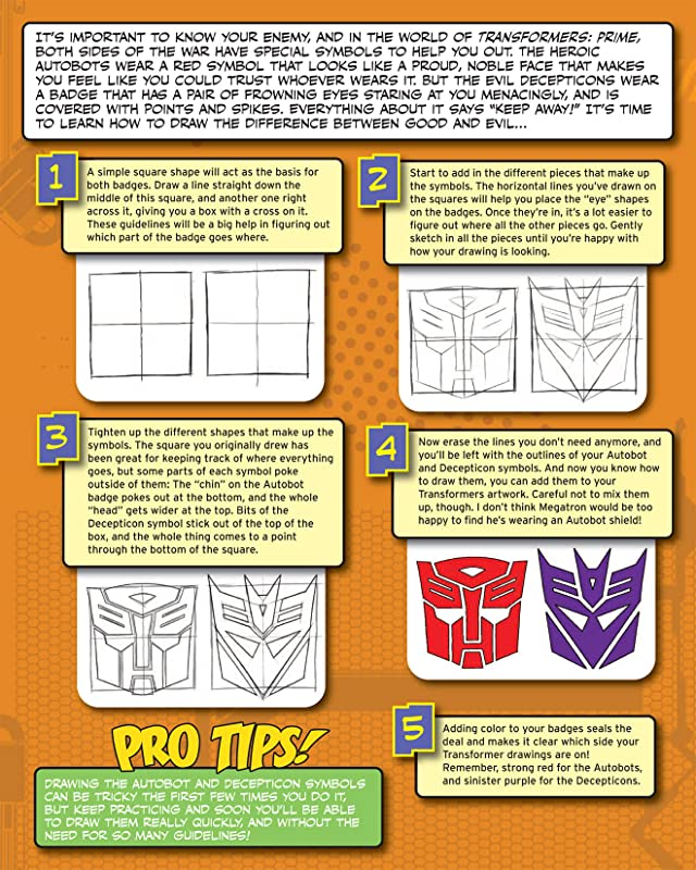 click for super-sized previews of How To Draw Transformers