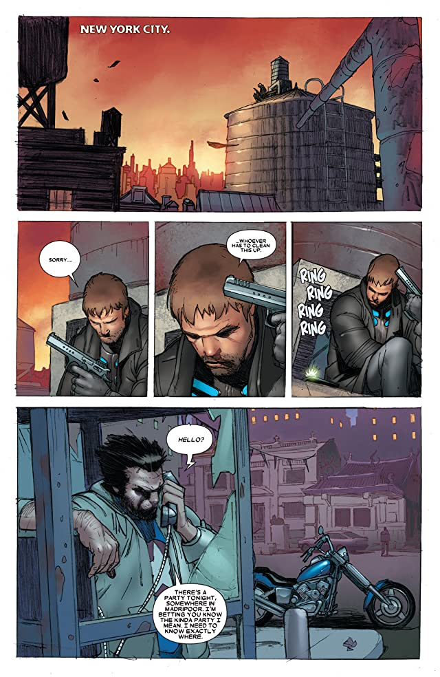 click for super-sized previews of Wolverine (2010-2012) #304
