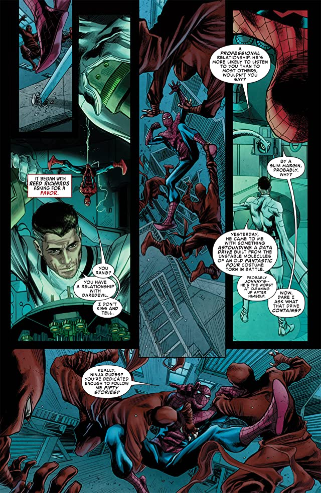 click for super-sized previews of Avenging Spider-Man (2011-2013) #6