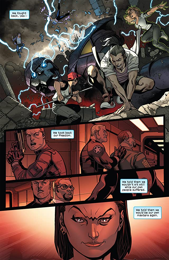 click for super-sized previews of Ultimate Comics X-Men #10