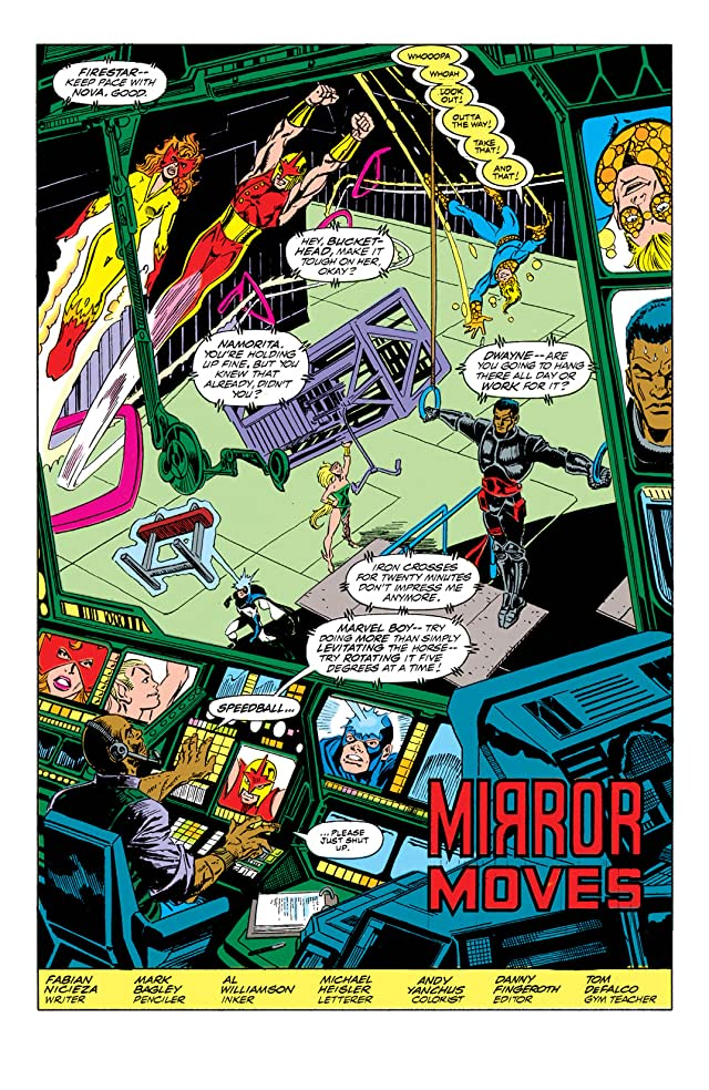 click for super-sized previews of New Warriors (1990-1996) #2