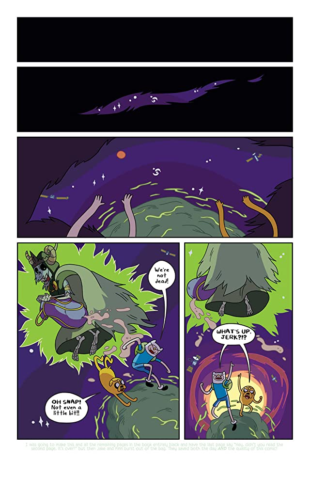 click for super-sized previews of Adventure Time #3
