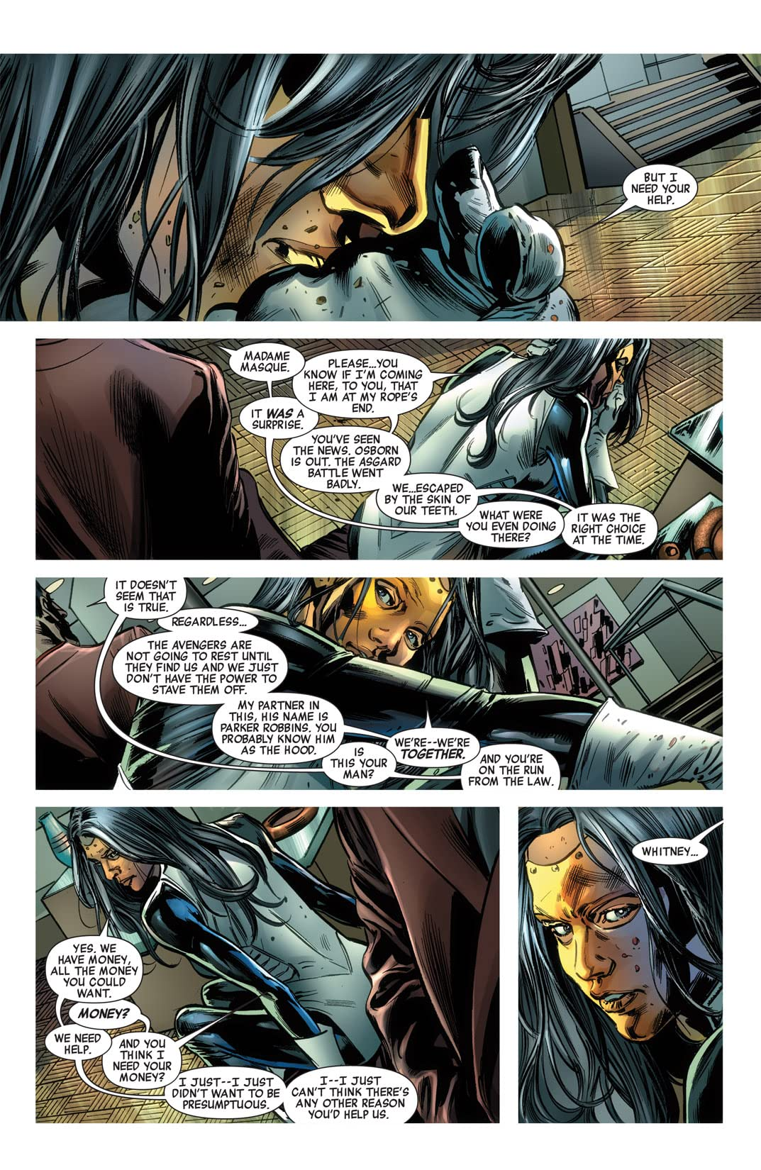 New Avengers (2004-2010) Finale #1