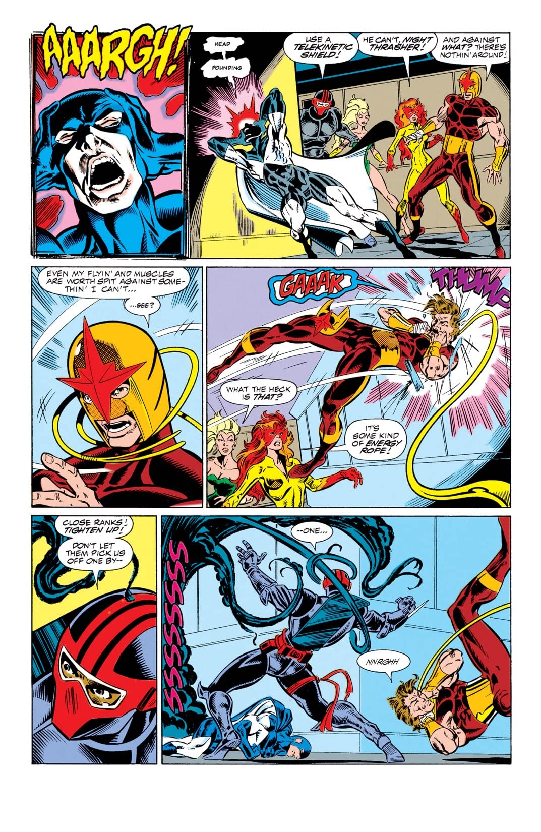 New Warriors (1990-1996) #4