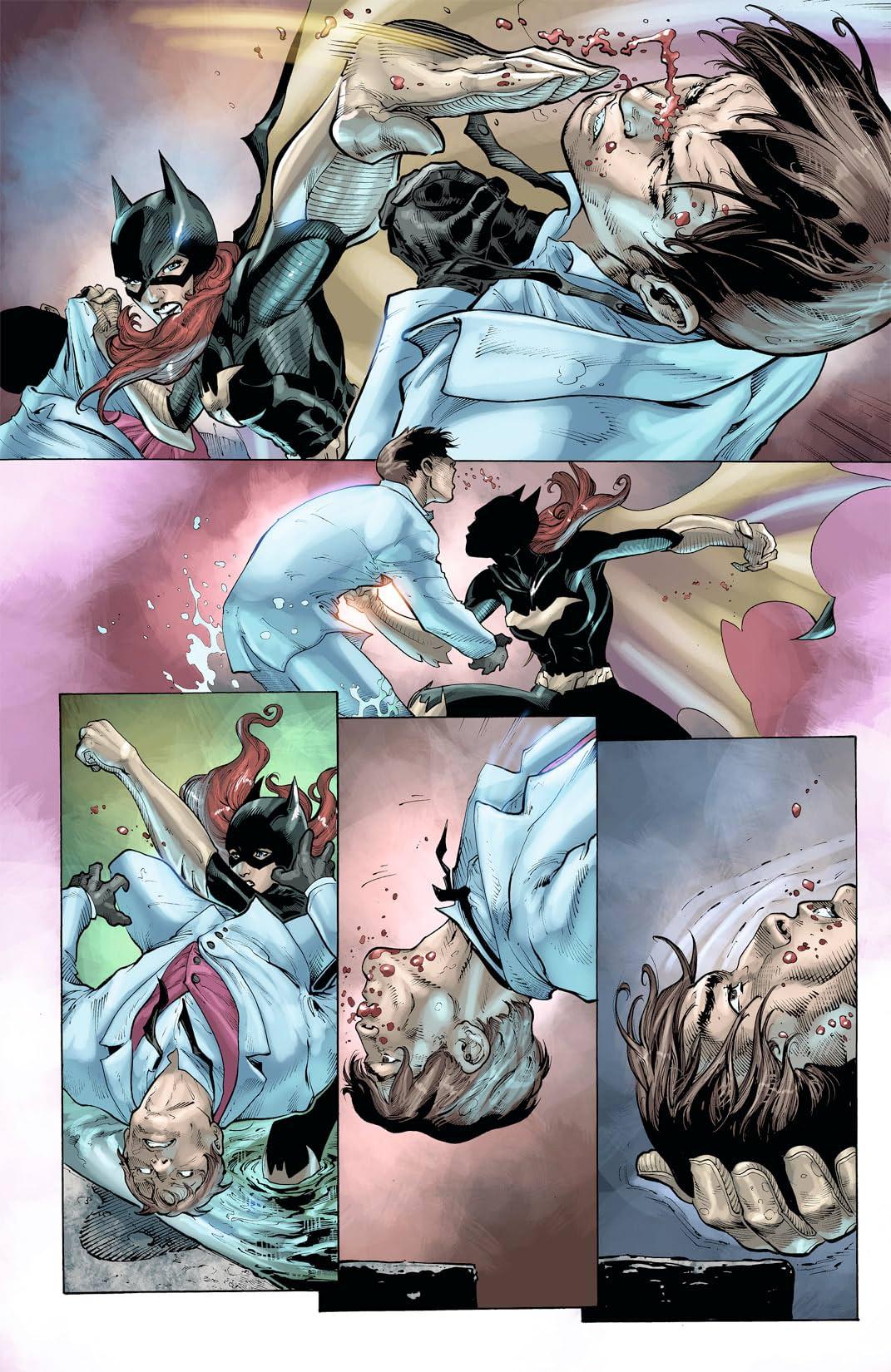 Batgirl (2011-2016) #8