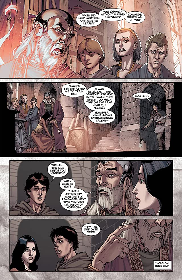 click for super-sized previews of Demon Knights (2011-2013) #8