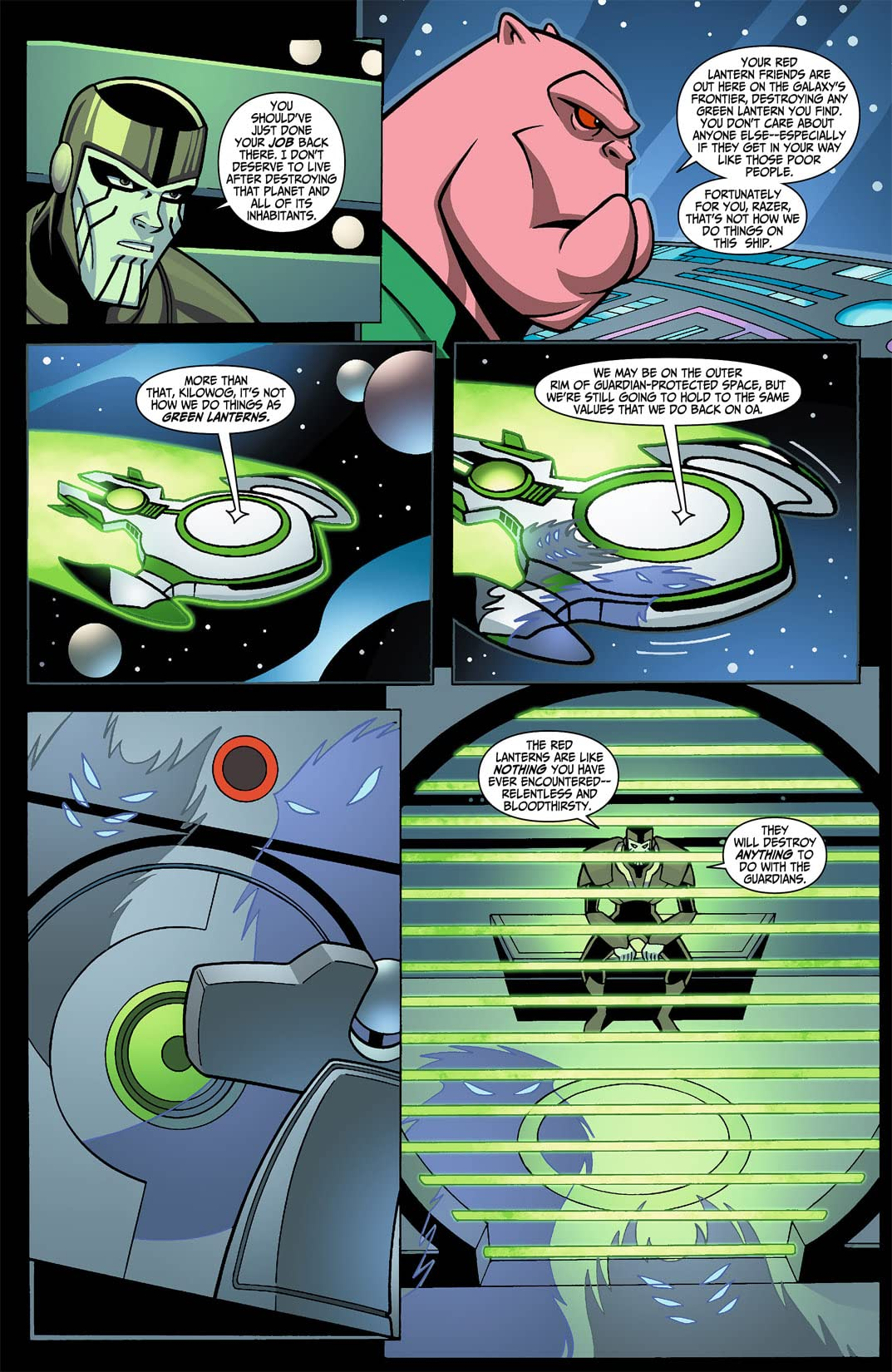 Green Lantern: The Animated Series #1