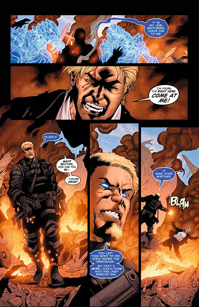 click for super-sized previews of Grifter (2011-2013) #8
