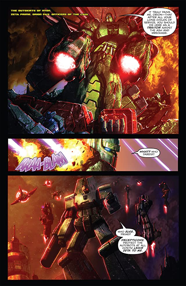 click for super-sized previews of Transformers: Autocracy #7