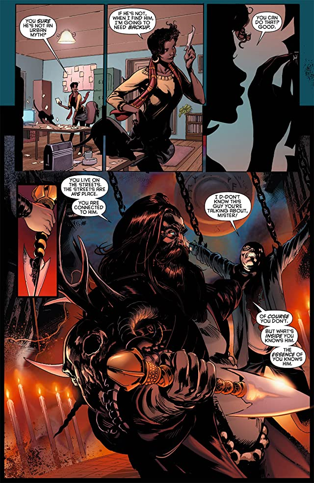 click for super-sized previews of Resurrection Man (2011-2012) #8
