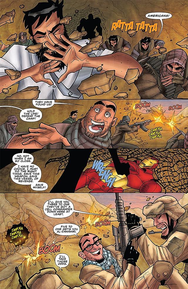 Rich Johnston's Iron Muslim #1