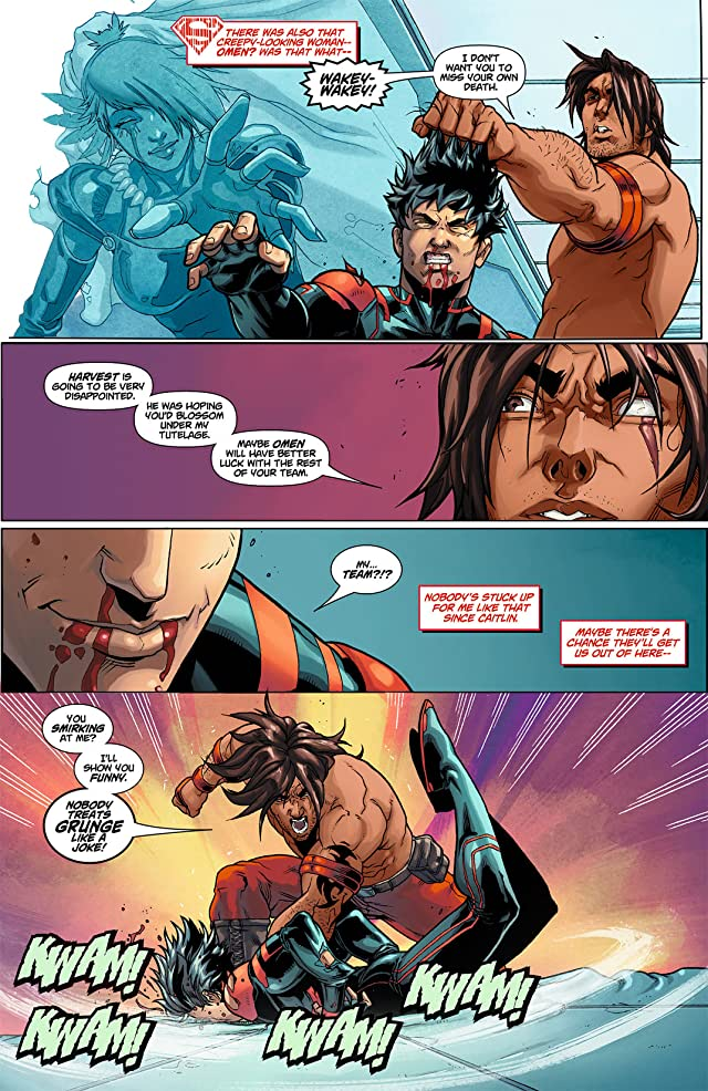 click for super-sized previews of Superboy (2011-2014) #8