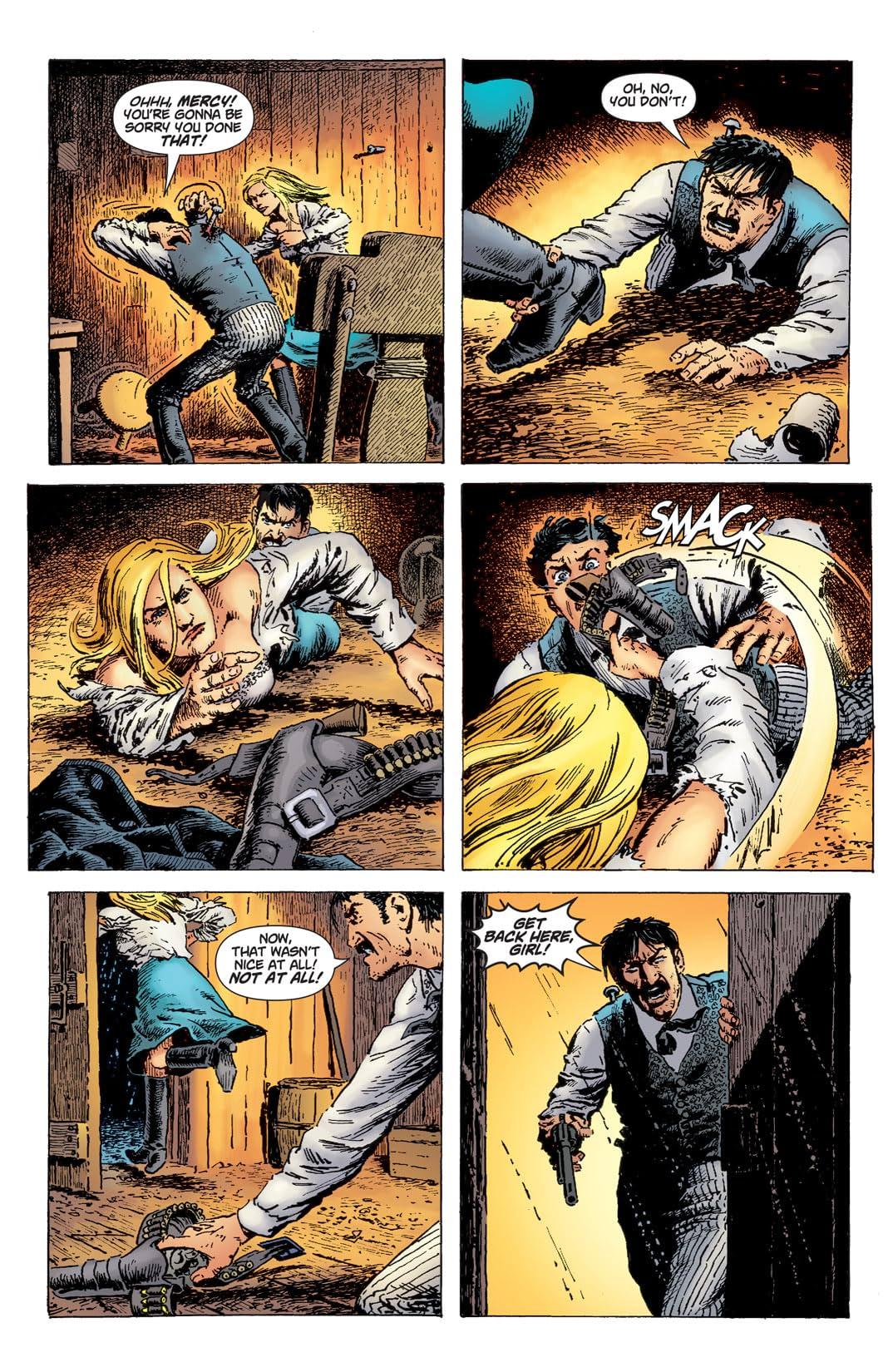 Bat Lash (2008) #2 (of 6)