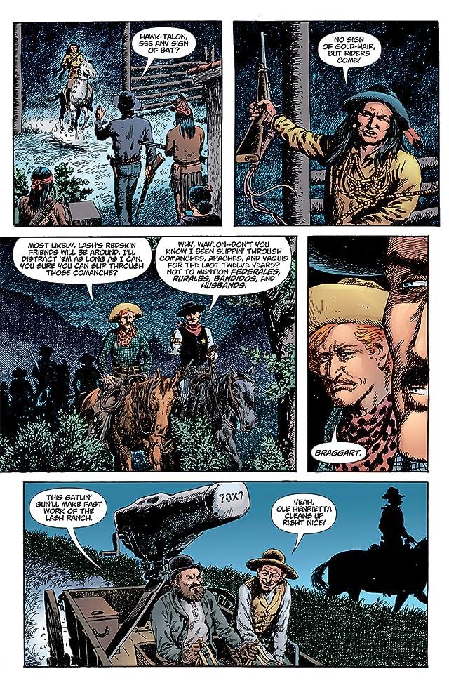 click for super-sized previews of Bat Lash (2008) #4