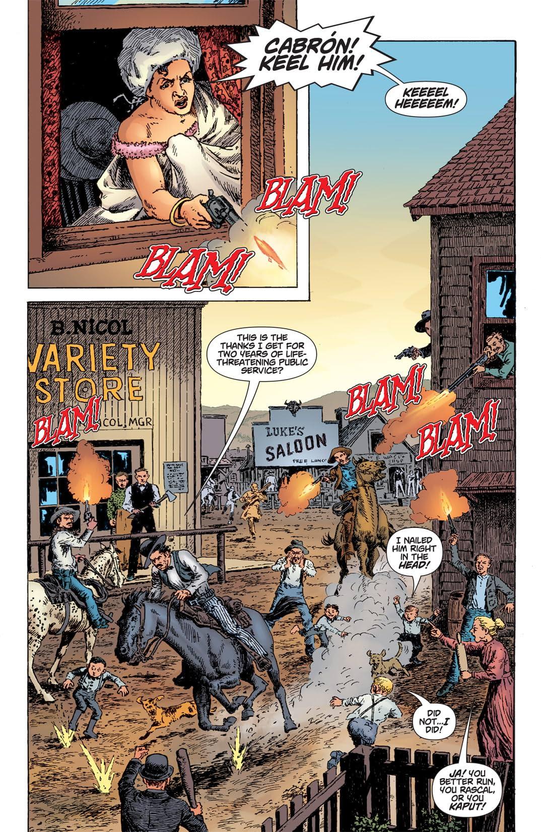 Bat Lash (2008) #6 (of 6)