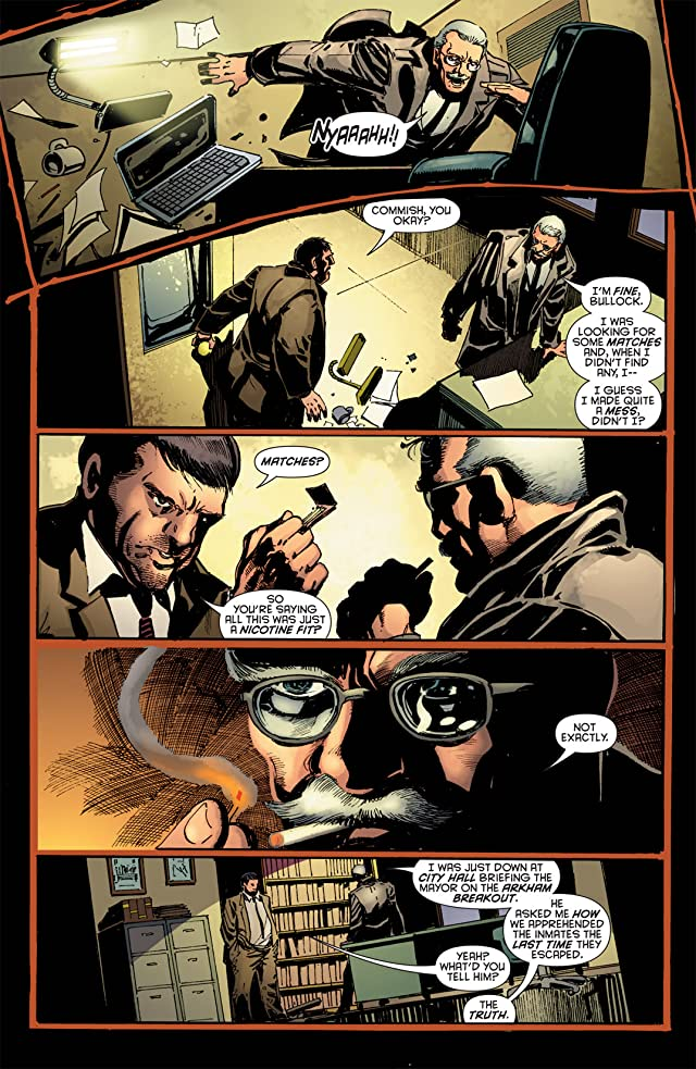 click for super-sized previews of Batman: Battle For the Cowl- Commissioner Gordon #1