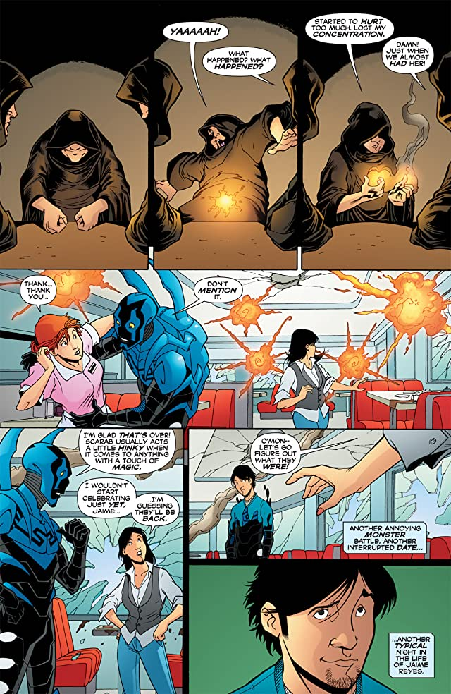 click for super-sized previews of Blue Beetle (2006-2009) #27
