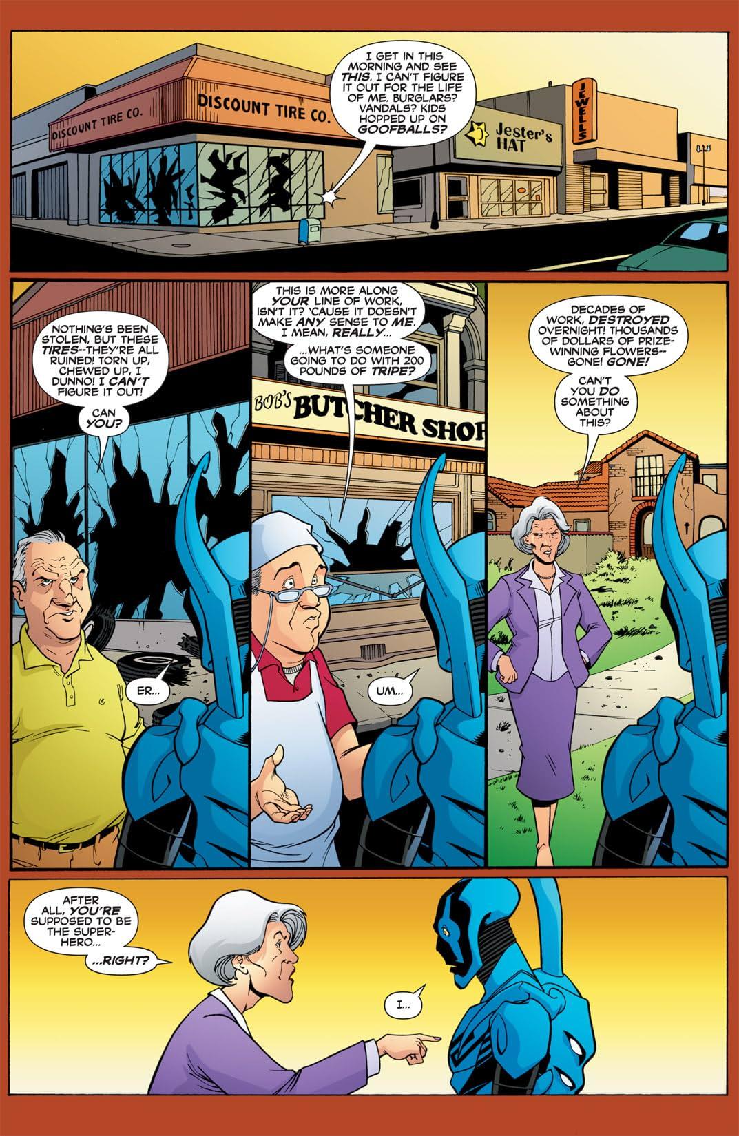 Blue Beetle (2006-2009) #28