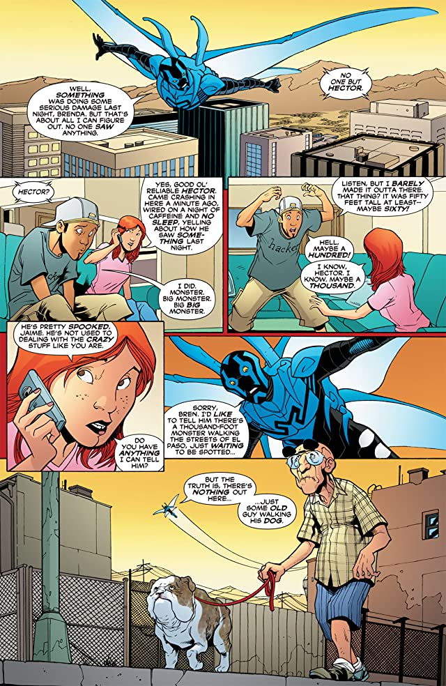 click for super-sized previews of Blue Beetle (2006-2009) #28