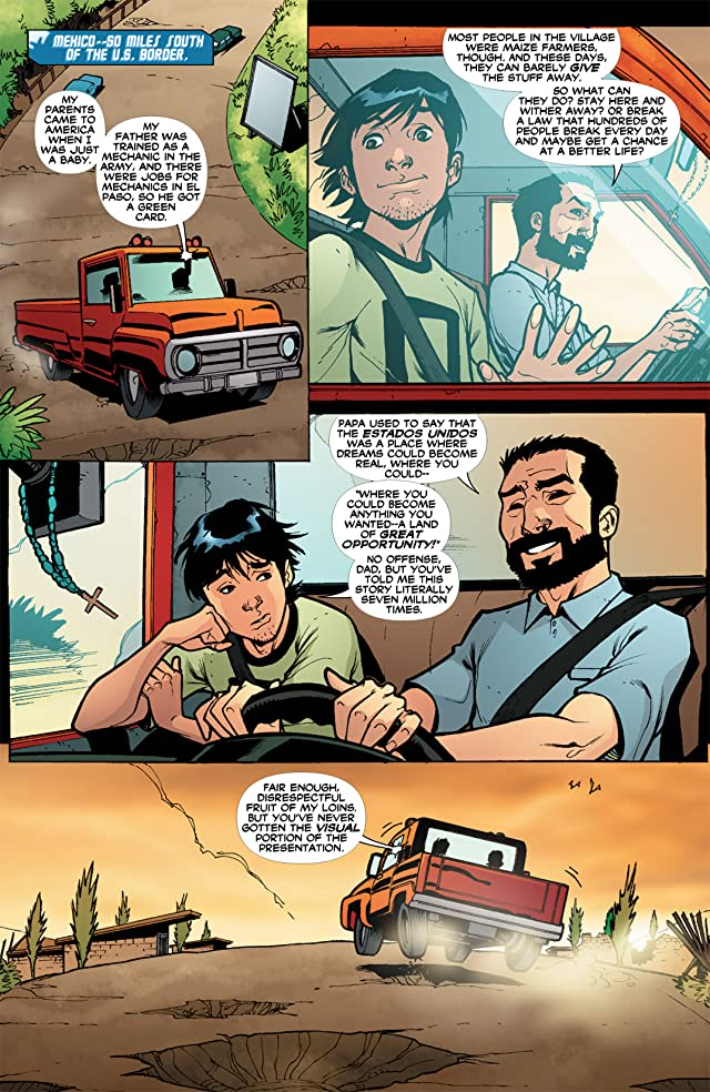 click for super-sized previews of Blue Beetle (2006-2009) #32