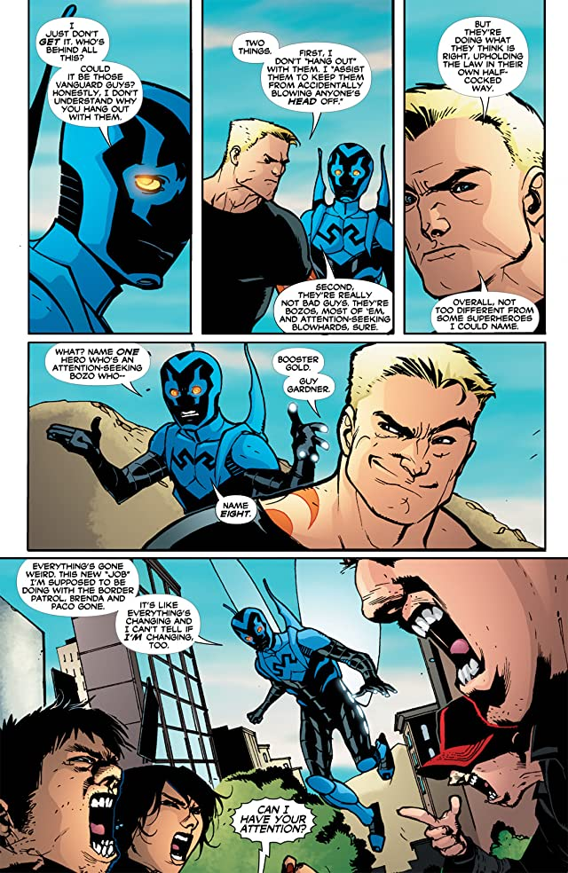 click for super-sized previews of Blue Beetle (2006-2009) #33