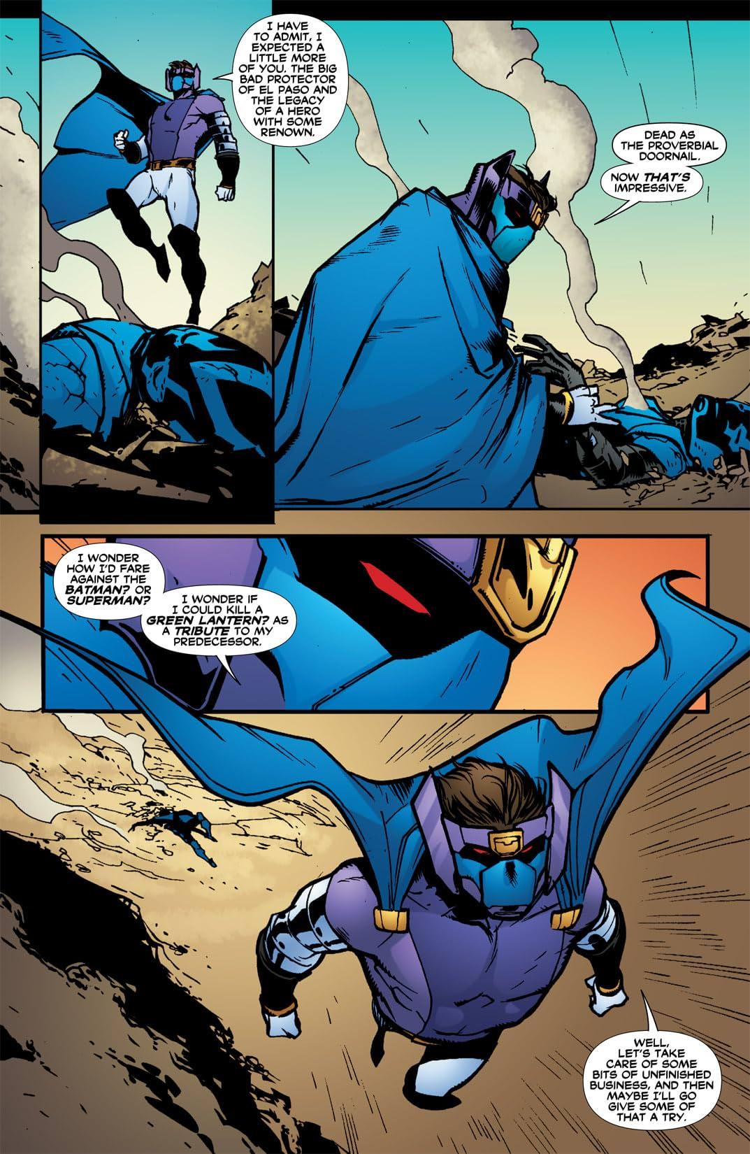 Blue Beetle (2006-2009) #34