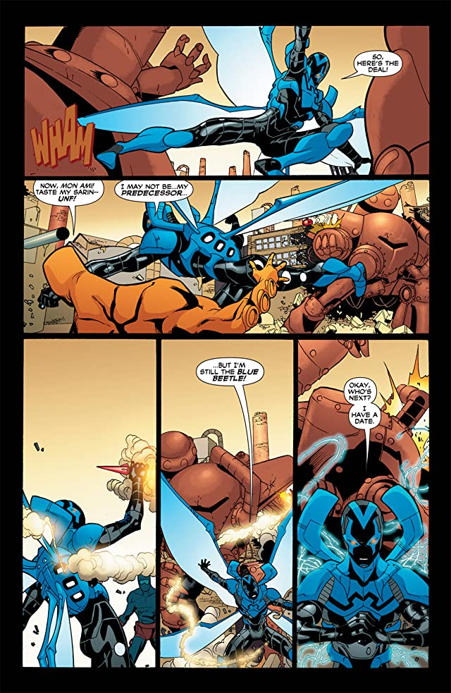 click for super-sized previews of Blue Beetle (2006-2009) #35