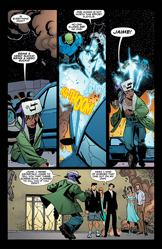 click for super-sized previews of Blue Beetle (2006-2009) #36