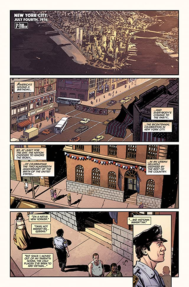 click for super-sized previews of Die Hard: Year One #1 (of 8)
