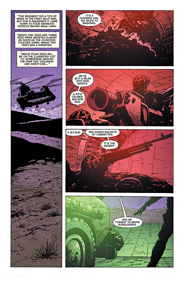 click for super-sized previews of Man Called Kev #3 (of 5)