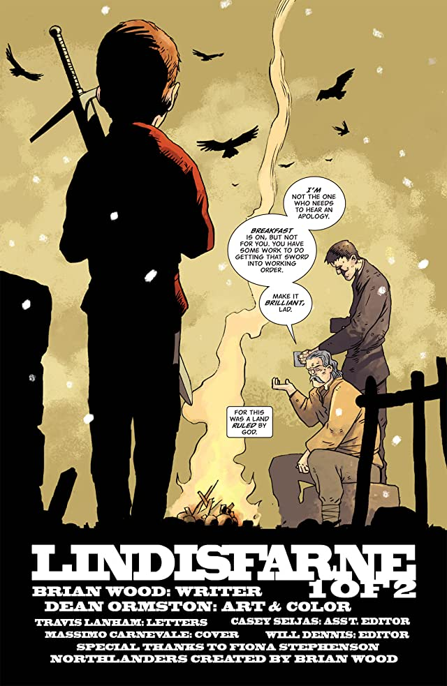 click for super-sized previews of Northlanders #9