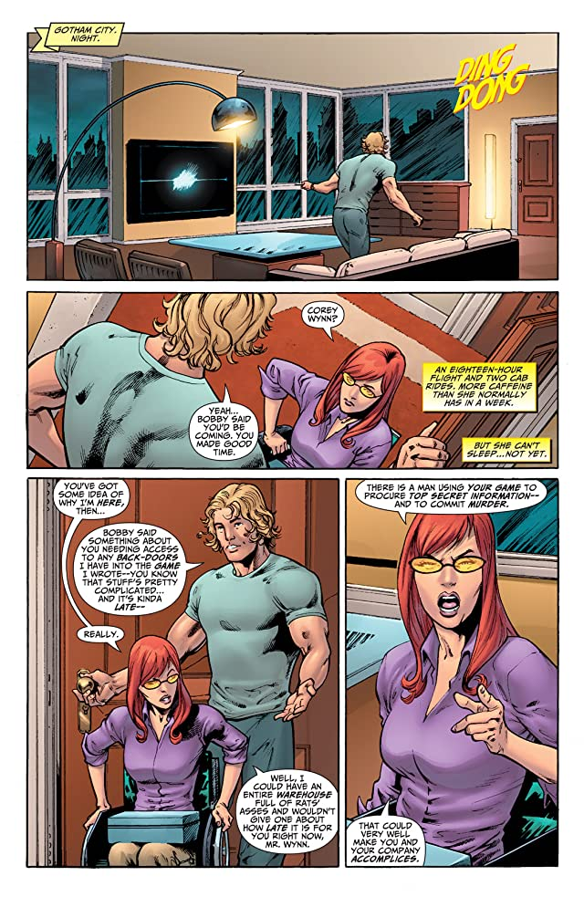 click for super-sized previews of Oracle: The Cure #3