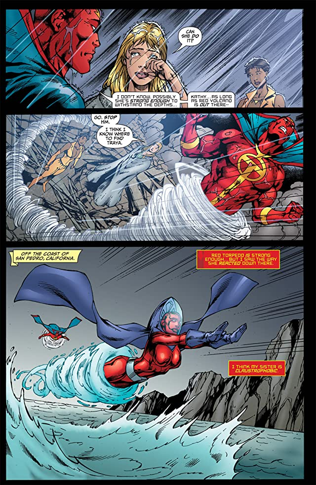 click for super-sized previews of Red Tornado #6