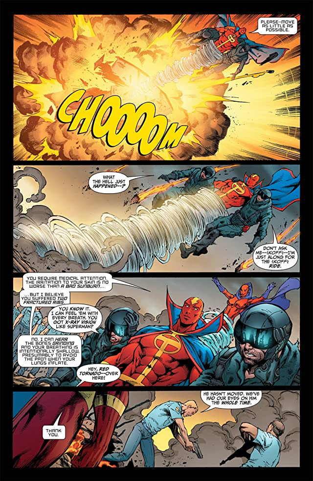 click for super-sized previews of Red Tornado #5