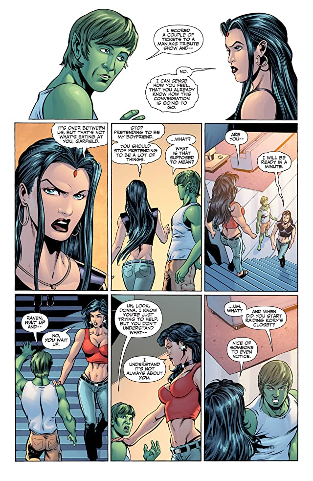 click for super-sized previews of Titans (2008-2011) #17