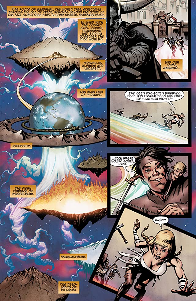 click for super-sized previews of Avengers Origins: Thor #1