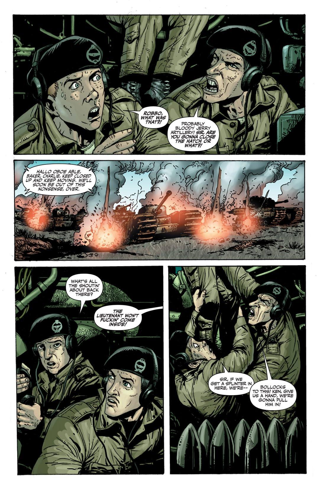 Battlefields Vol. 3: The Tankies