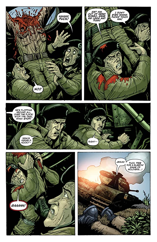 click for super-sized previews of Battlefields Vol. 3: The Tankies