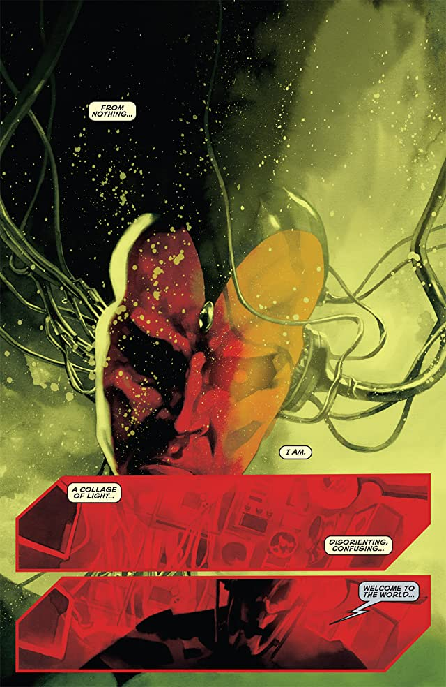 click for super-sized previews of Avengers Origins: Vision #1