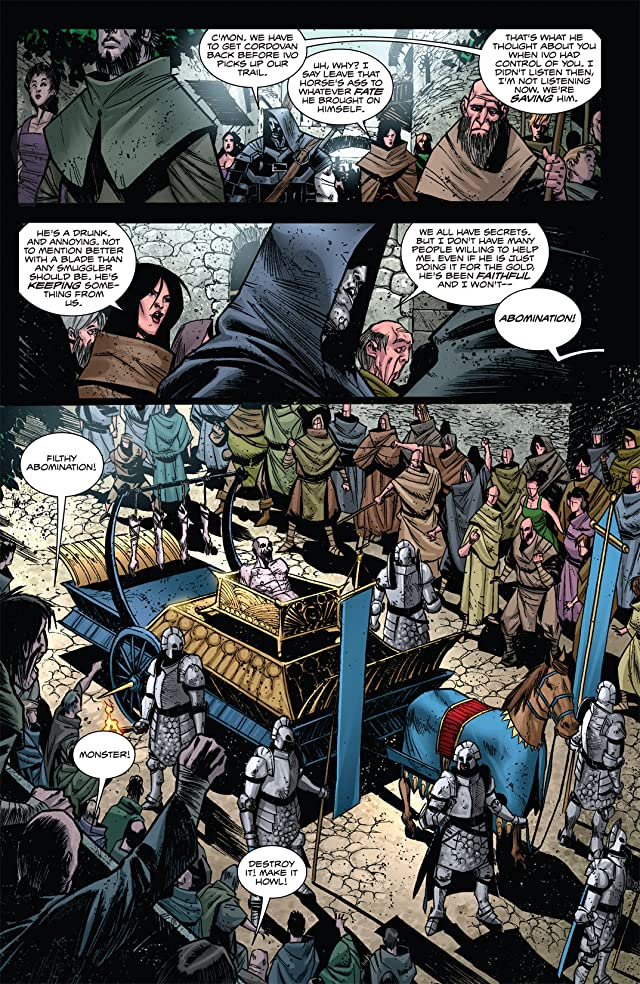 click for super-sized previews of Valen the Outcast #4