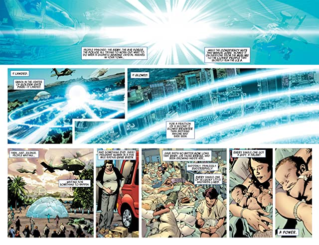 click for super-sized previews of America's Got Powers #1