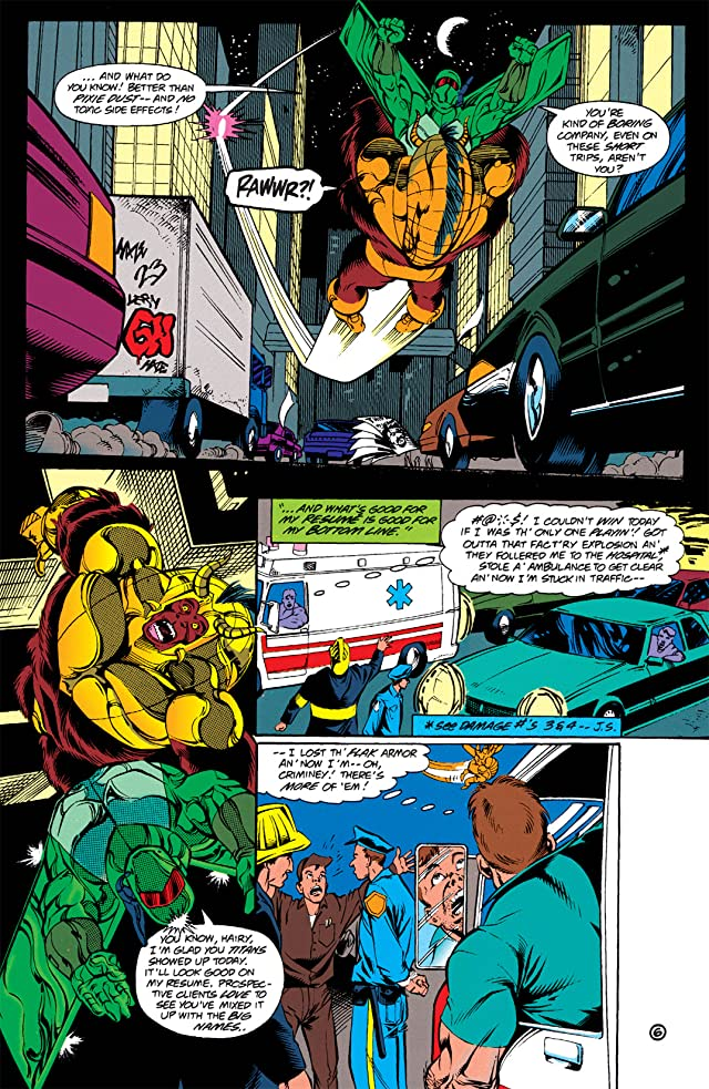 click for super-sized previews of Damage (1994-1996) #6